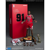 Hot Enterbay Dennis Rodman Nba Chicago Bulls 1/6 Nuevo Toys