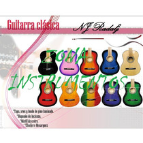 Guitarras Criollas De Estudio Con Funda Y Puas De Regalo