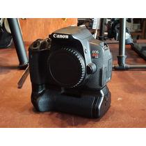 Canon T4i Body+grip Timelapse+flash Ring