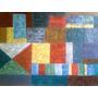 Cuadro Abstracto-cubista Con Bastidor Mide 1 Metrox70cm Oleo