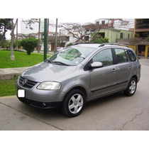 Volkswagen Spacefox Highline 2007, 1.6 Cc Mecánico Full A/c