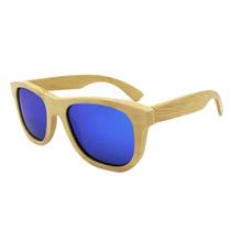 Oculos De Sol Em Madeira / Bambu Unisex Moda Qualidade