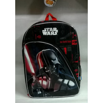 Mochila Star Wars - Darth Vader - Mediana Espalda Original