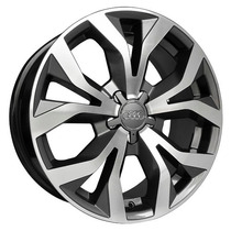 Roda Audi Rs6 Aro 17 + Pneus 205/45/17 Novos