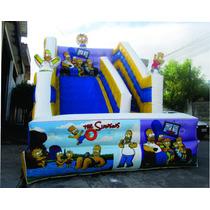 Toboga Inflavel Os Simpsons Lancamento