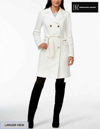 abrigo blanco mercanolibre 6b4bc8dadf81