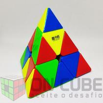 Cubo Mágico Pyraminx Qiyi-mfg Stickerless (peças Coloridas)