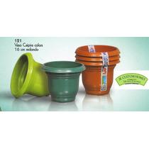Vaso Plastico Planta Jardim Embalagem 16 Cm, 1000ml 252 Pçs