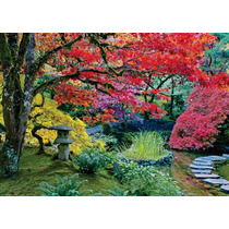 Rompecabezas Heye Jardin Japones Arboles Color 1000 Pz 29754