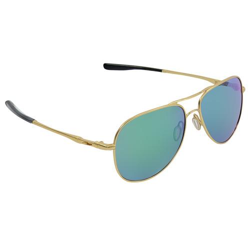 40250bfabc20a Óculos Masculino Oakley Elmont L Satin Gold Jade Iridium - R  590