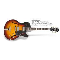 Guitarra Epiphone Es175 Reissue Premium Semi Acústica Sb **