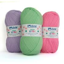 Lana Ovillo Super Bebe Para Crochet Y Dos Agujas De Cisne$99