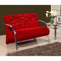 Cadeira Namoradeira Decorativa - Sala De Estar Ou Recepção