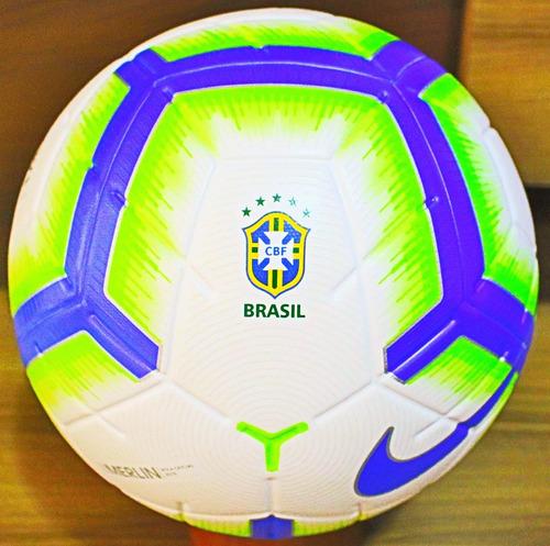 92304560f2f99 Nova Bola Nike Merlin 2019 Selo Fifa E Cbf Oficial De Jogo ! - R  379