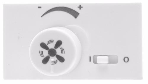 Control Leviton Para Ventilador, Color Blanco, Línea Modular ...