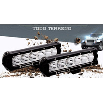 Barra Led 18w Potente Jeep 4x4 Auto Camioneta Bus Motos