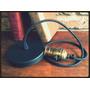 Portalampara Vintage +1 Metro Cable Textil+floron+foco G80
