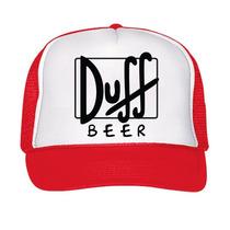 Gorra Tipo Trucker Duff Simpsons