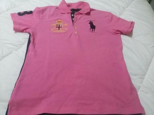 Camisa Polo Ralph Lauren Feminina Original Tam Xl Fit - R  69 443e6203cbd