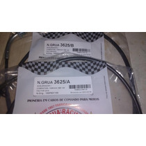 Kit 2 Cabo Grua Acelerador A E B Yamaha Ybr Factor 125 2014