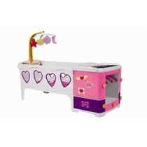 Bercinho De Boneca Berço Doce Sonho Rosa - Magic Toys