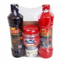 Kit Para Limpeza Automotiva Mil Milha Com 4 Produtos