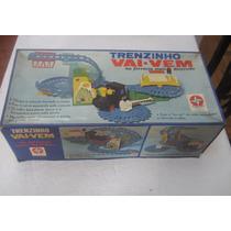 Trem Vai E Vem Da Estrela Anos 70 Brinquedo Antigo