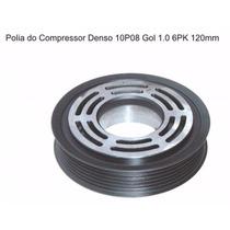 Polia Ar Condicionado Denso 10p08 Vw Gol G3 Gol Power 6pk