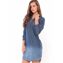 Roupas Femininas / Vestido Feminino Jeans / Chemise Handara