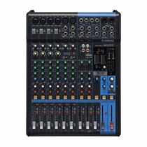 Mesa De Som Yamaha 12 Canais Mg12xu 24 Efeitos Supersonora