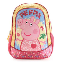 Mochila Escolar Infantil Xeryus Peppa Pig - Amarelo
