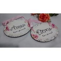 Placa Decorativa Casamento Cadeira Noivos Cerimônia Festa