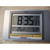 Relojes Mural Casio Id-16 Temperatura Importadora