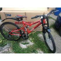Bicicleta Bimex Vampire R26 18v Doble Suspension Montaña