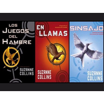Libros Los Juegos Del Hambre Trilogía Originales $594.00