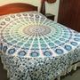 Cobertor Cubrecama Mandalas Hindú Meditación Yoga Reik