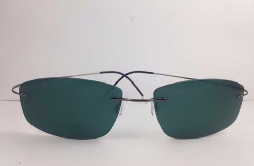 09f21c2267f80 Óculos De Sol Armação Titanium Sem Aro Polarizado  Masculino - R  89,45 em  Mercado Livre