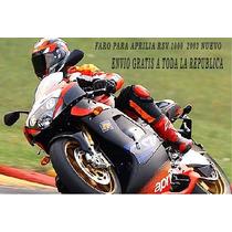 Faro Para Moto Aprilia Rsv 1000 2003 Nuevo Envio Gratis
