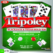 Ideal Tripoley Black Jack And Texas Hold