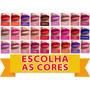 Batom Líquido Matte Fashion Cosmeticos 12 Unidades + Brinde