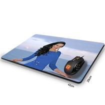 Mouse Pad Gamer Cozete Gomes Ocean Blue 42cm