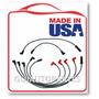 Cables De Bujias Gm Blazer 262 Tbi 4.3 1990-1994 Usa 8.8mm