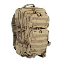 Mochila Tactica Assault U.s 30 Litros Coyote/negra