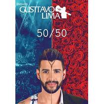 Dvd + Cd Gustavo Lima - 50/50 Lançamento 2016 (991545)