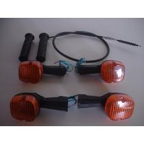 Pisca Honda Cb450 Dianteiro/traseiro+cabo Embreagem+manopla
