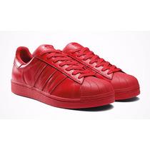 tenis adidas mujer rojos