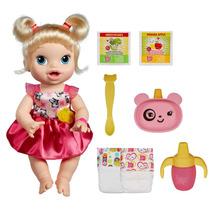 Baby Alive Loira Hora De Comer A7022 - Hasbro