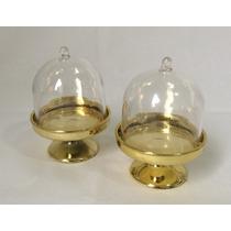 10 Mini Cúpula Dourada Lembrancinhas Festas Casamento