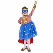 Disfraz Pop Art Comic Superhero Girl Toddler Costume