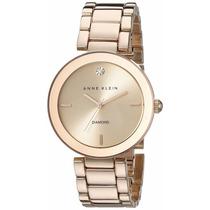 Reloj Anne Klein Diamond Metal Oro Rosa Mujer Ak/1362rgrg